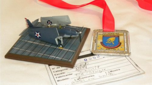 Meu Modelo Premiado - Medalha de Prata - Aviação
