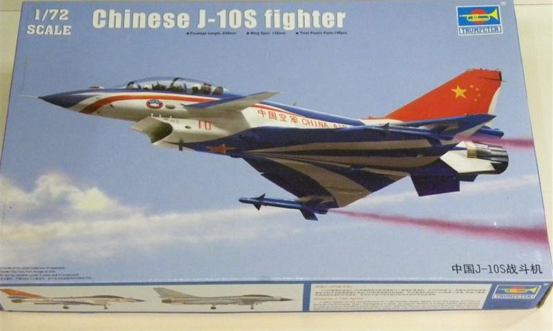 Review 1/72 Trumpeter J-10S Fighter #01644 - SPRUEMASTER