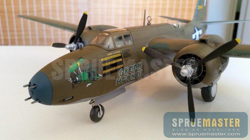 Artigo do Leitor: Douglas A-20 Havoc AMT 1/48