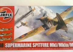 Artigo do Leitor: SUPERMARINE SPITFIRE – AIRFIX 1/48