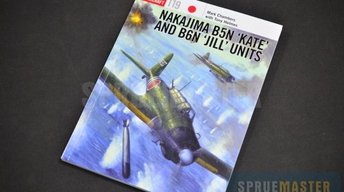 NAKAJIMA B5N 'KATE' and B6N 'JILL' UNITS