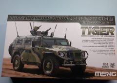 GAZ 233014 TIGER – MENG vs Xact vs ZEVZDA – PARTE III