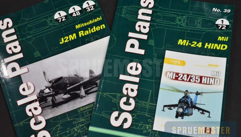 Mi-24 Hind e J2M Raiden – SCALE PLANS- MMP Books