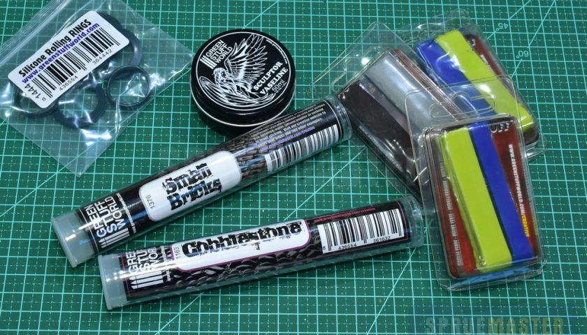 Dica de Ferramenta: Rolos Texturizados Green Stuff World
