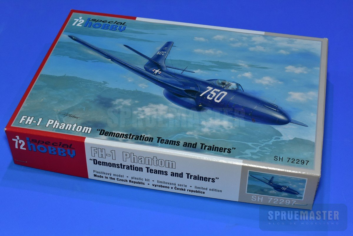 Special Hobby 100-SH72297 FH-1 Phantom Demonstration Teams and Trainers in 1:72