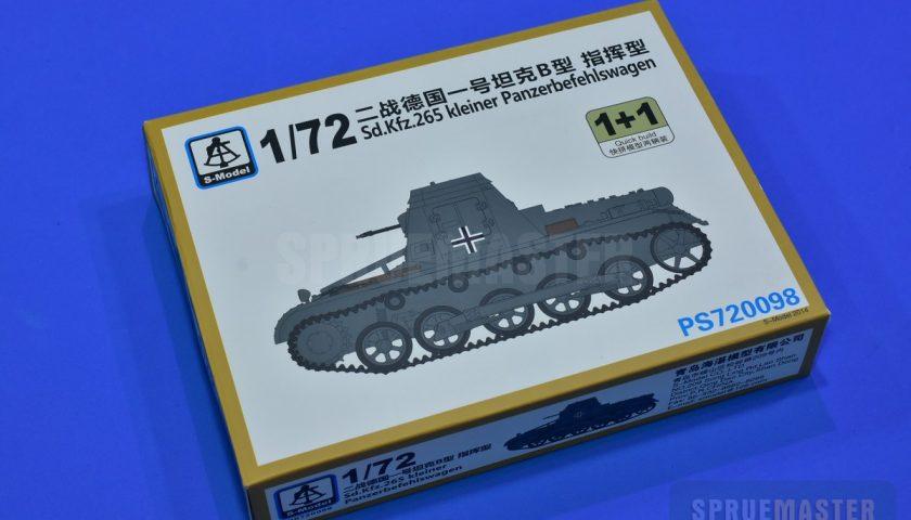 Review: 1/72 Sd.Kfz. 265 kleiner Panzderbefehswagen – S-model #PS720098