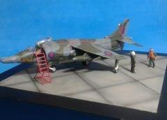Artigo do Leitor – 1/72 Harrier GR-3 Falkland