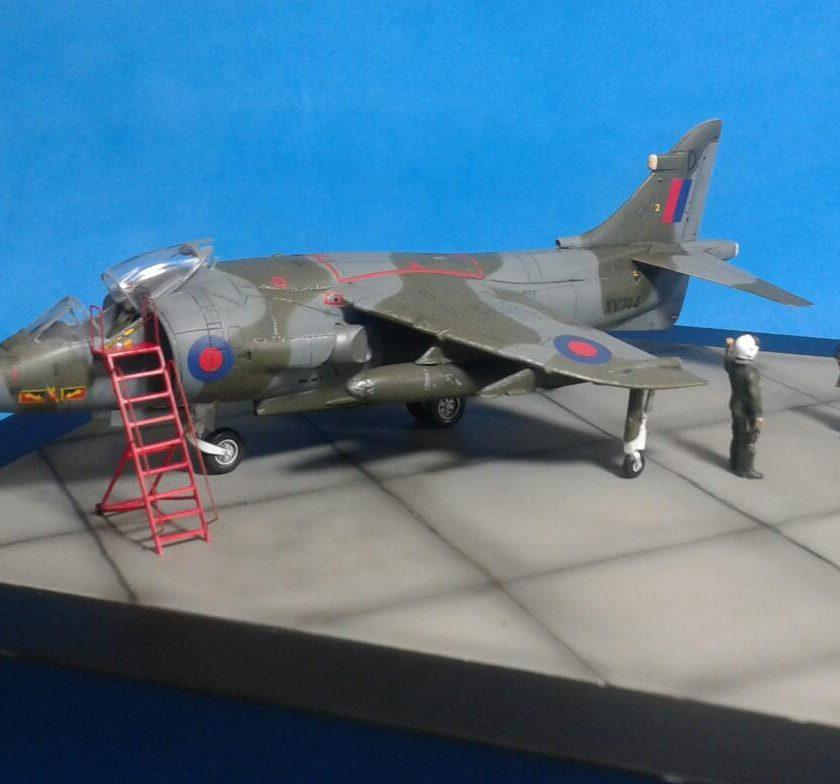 Artigo do Leitor – 1/72 Harrie GR-3 Falkland